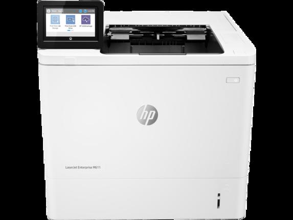 HP Printer|LaserJet Enterprise M611dn|10.92 cm Color Graphics Display|7PS84A#BGJ