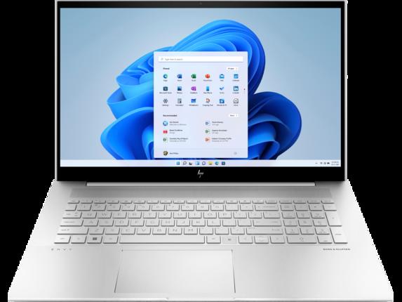 HP ENVY Laptop - 17t-ch000 Touch Screen optional|Intel Core i5 11th Gen|Windows 10 Home 64|512 GB SSD|Intel Iris Xe Graphics|32 GB DDR4