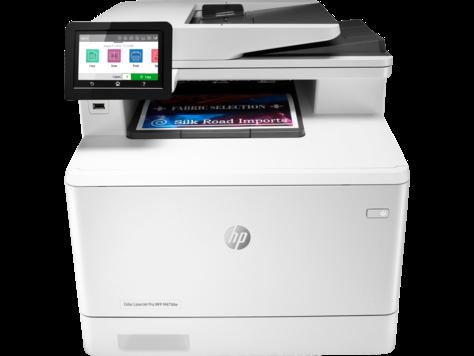 HP Color LaserJet Pro MFP M478-M479 series