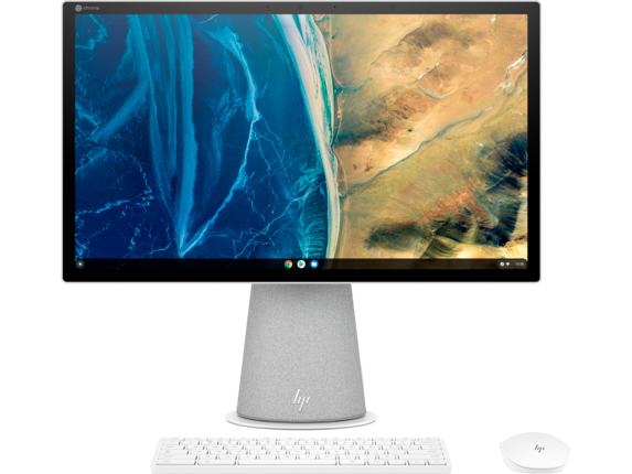 HP Chromebase All-in-One Computer & Display 22 - aa0050t|Intel Processor|Chrome OS|Intel® UHD Graphics|8 GB DDR4|21.5