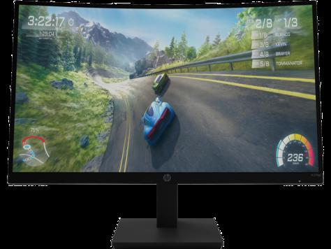HP X27c FHD Gaming Monitor