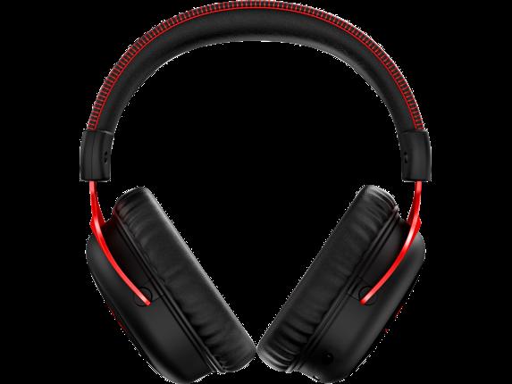 HyperX Cloud II Wireless - Gaming Headset (Black-Red)|4P5K4AA|HP