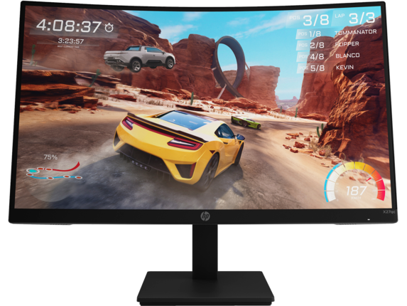 HP X27qc QHD Gaming Monitor 32H00AA#ABA
