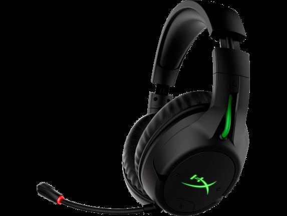 HyperX CloudX Flight - Wireless Gaming Headset (Black-Green) - Xbox|4P5J6AA|HP
