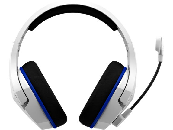 HyperX Cloud Stinger Core - Wireless Gaming Headset (White-Blue) - PS5-PS4|4P5J1AA|HP