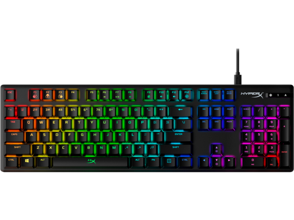 HyperX Alloy Origins - Mechanical Gaming Keyboard - HX Aqua (US Layout) 4P5N9AA#ABA HP