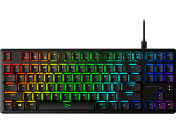 HyperX Alloy Origins Core - Mechanical Gaming Keyboard - HX Aqua (US Layout) 4P5P1AA#ABA HP