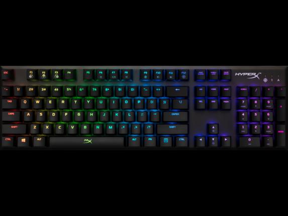HyperX Alloy FPS RGB - Mechanical Gaming Keyboard - Silver Speed (US Layout) 4P5N5AA#ABA HP