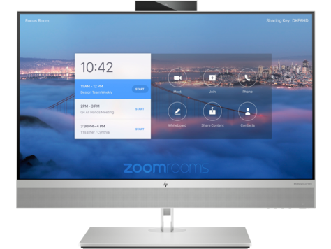 HP Collaboration G6 27 All-in-One with Zoom Rooms (2X1L8AV)