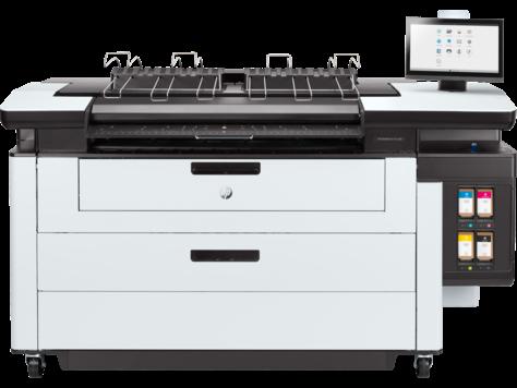 Impressora multifuncional HP PageWide XL Pro 5200